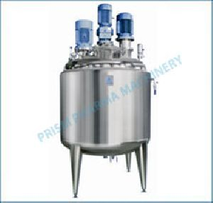 Preparation Vessel, Reactor Storage Tank