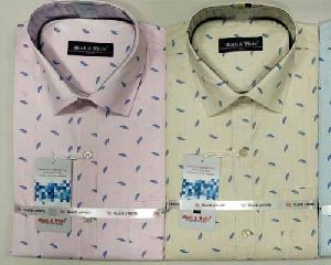 Cotton Printed Formal Shirts