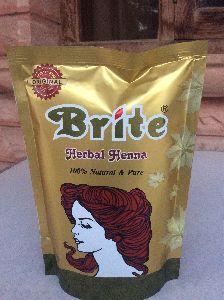 Brite Herbal Henna Powder In 200g, Standing Pouch