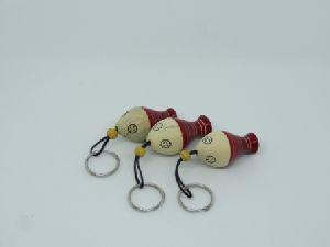 Red Fish Keychain