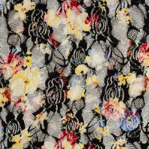 Printed Lace Fabric