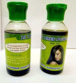 10 Times Power Hair Oil