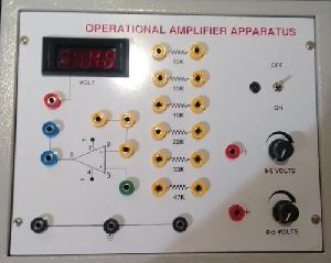 Ic 741 Operational Amplifier Trainer Kit