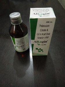 Potassium Citrate & Citric Acid Solution