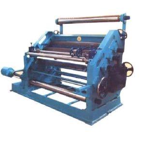 High Speed Single Paper Corrugation Machine