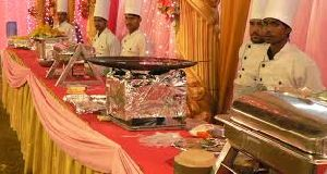 Wedding Food Stall