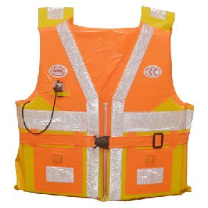 Big Cargo Life Jacket With Front Chain