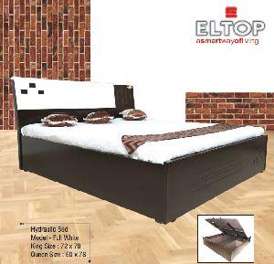 Full White Hydraulic Bed