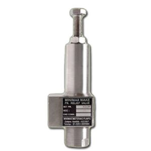 Stainless Steel Pressure Relief Valves