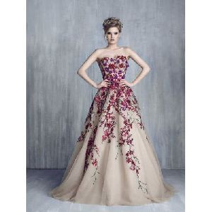 Embroidered Gowns