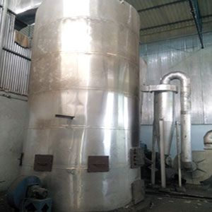 Agro Waste Fired Hot Air Generator