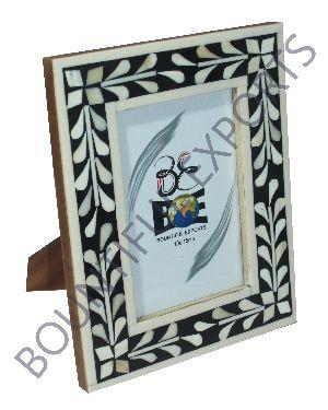 Bone Inlay Photo Frames