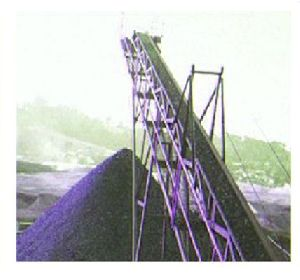 Industrial Belt Conveyor System