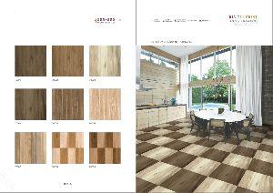 Digital Print Proclain Wooden Floor Tiles