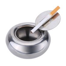 Stainless Steel Drum Shape Ashtray