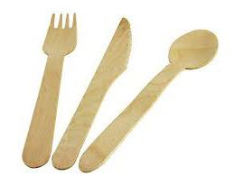 Areca Leaf Cutlery Set