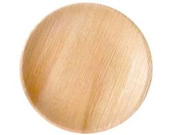 Areca Leaf Round Plates