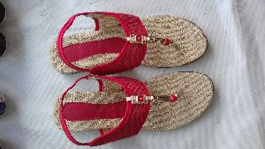 Ladies Jute Footwear