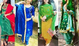 Punjabi Silk Suits