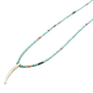 Mix Strand Feather Necklace