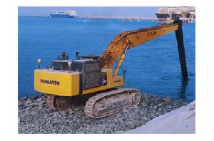 Fully submersible excavators controlled