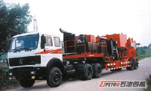Double Pump Trailer Mounted Cementing Unit