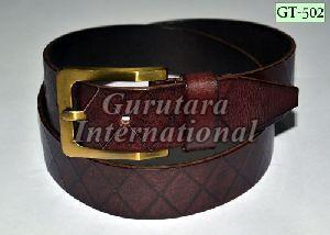 GT-502 Leather Belt