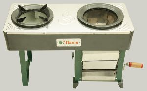 Two Pot Biomass Stove