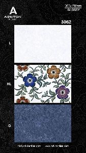 Glossy wall tiles 12x18 (300x 450 mm)