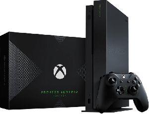 Microsoft Xbox One X Project Scorpio Edition, 1tb, Black Console