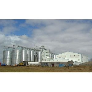 Semi Automatic Rice Mill Plant