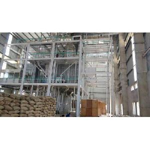 Fully Automatic Rice Mill Plant