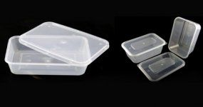 Microwave Container Rectangle