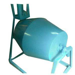 Dry Color Pan Mixer