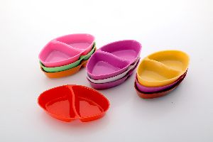 Multicolor Chatni bowl Set