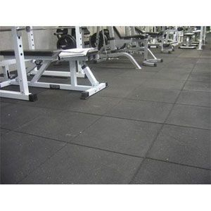 Gym Flooring Rubber Tile