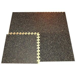 Interlocking Rubber Flooring Tile