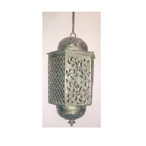 Six Side Antique Brass Lamp