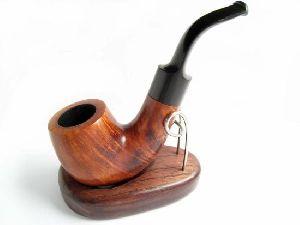 Wooden Sherlock Smoking Pipe