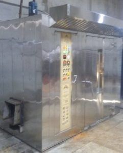 Wooden Fired Rotary Rack Oven