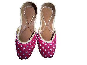 Red Bridal Designer Traditional Footwear