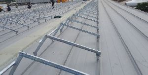 ELEVATED PROFILE SOLAR PANEL ANGLES