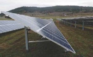 SOLAR MOUNTING SINGLE POLE STRUCTURE