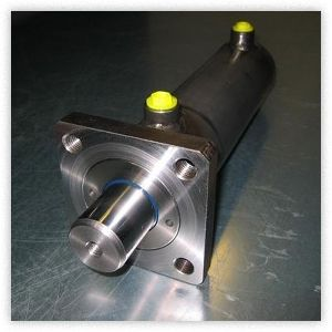 HYDRAULIC CYLINDERS FLANGE MOUNTED