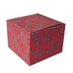Multi Colored Corrugated Box