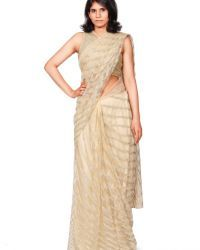 Sequence Embroidered Saree