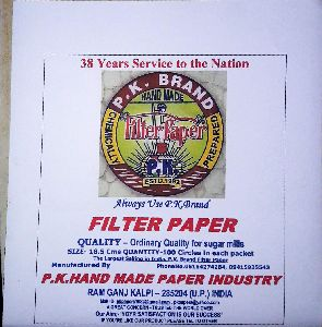 hand made filter paper