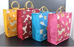 Laminated Cotton Bags