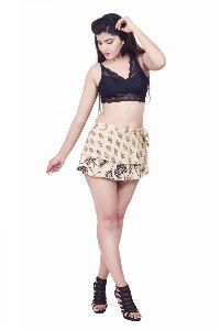 short wrap around skirt