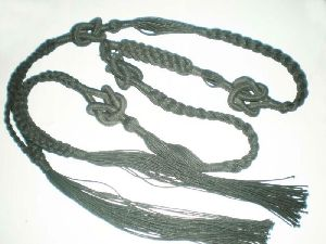 Fashion Lady Braided Leather Belt